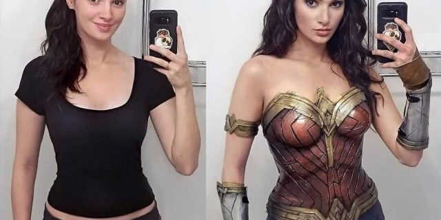 Guidance of Wonder Woman Cosplay Costume