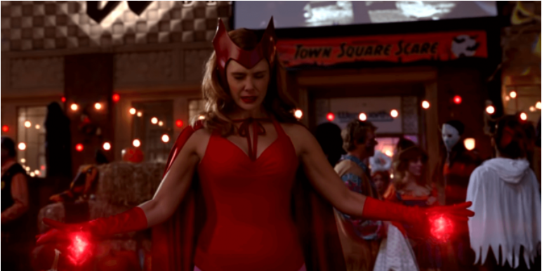 Wanda Vision Cosplay Costume